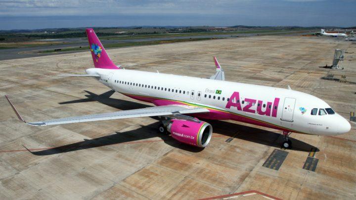Azul vai usar nos voos de Vitória para Recife o jato A320neo com 174 assentos