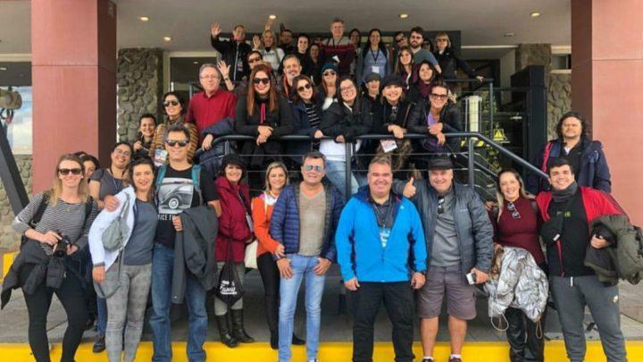Brasileiros em Ushuaia fala sobre famtour na Argentina e repatriação de agentes de viagem